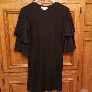 NWT Planet Gold Black Dress XS